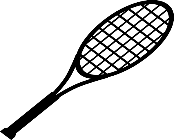 600x481 Racquet For Serve Clip Art