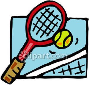 300x285 Ball Clipart Tennis Racket