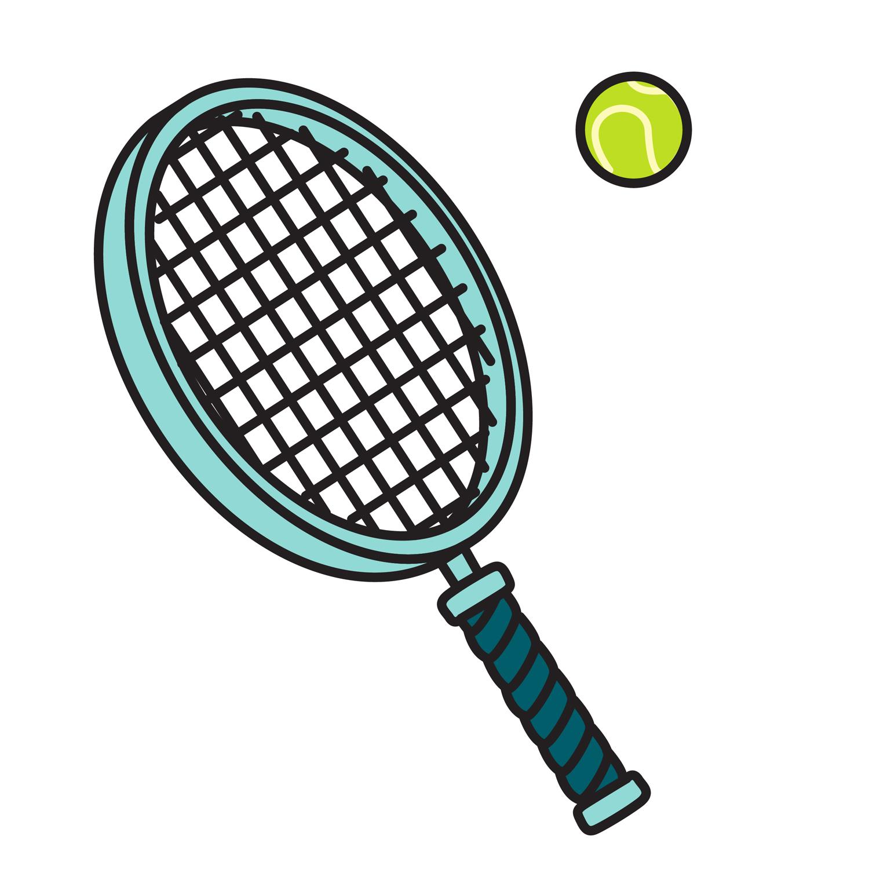 1500x1500 Clipart Tennis Racket Many Interesting Cliparts