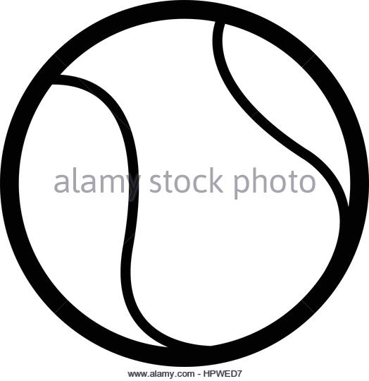 524x540 Tennis Ball Black And White Stock Photos Amp Images