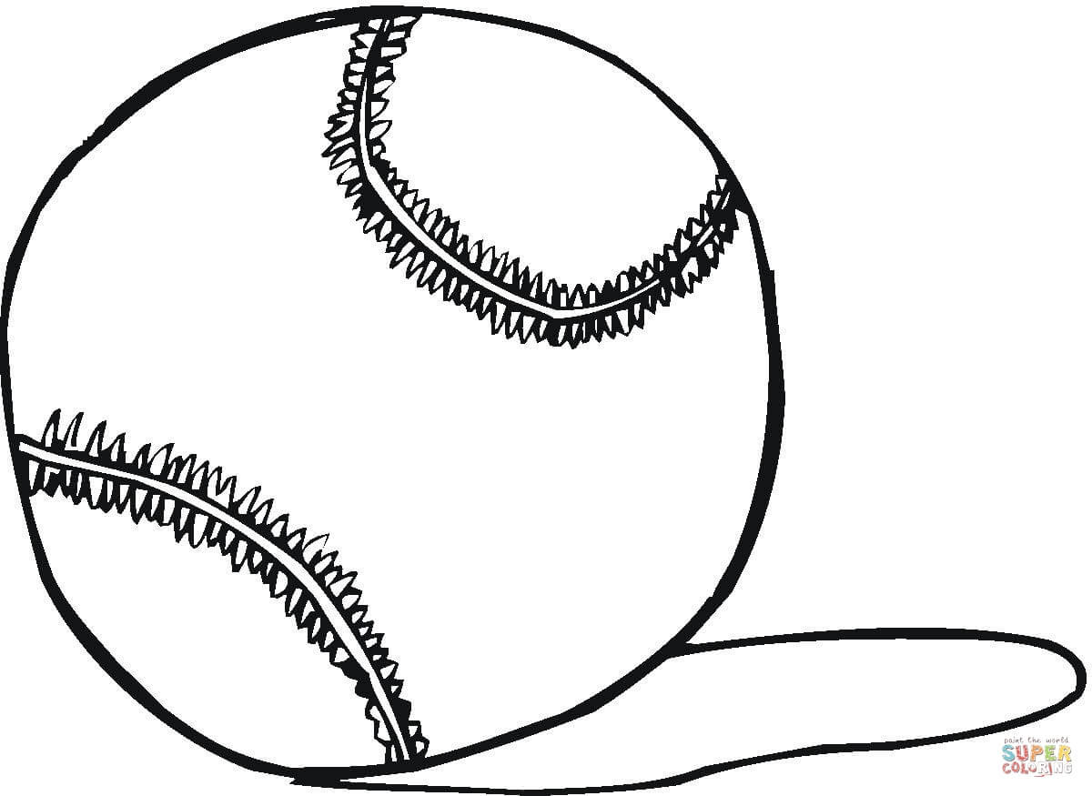 1200x875 Tennis Ball Coloring Page Free Printable Coloring Pages