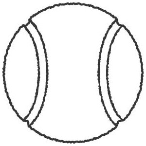 300x300 Tennis Ball Sku Free Clipart Images