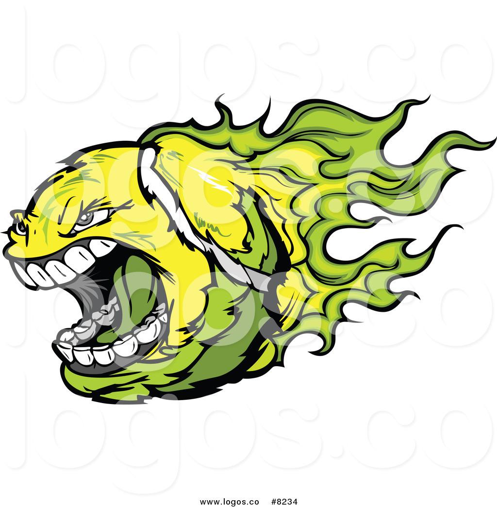 1024x1044 Royalty Free Clip Art Vector Logo Of A Screaming Vicious Flaming