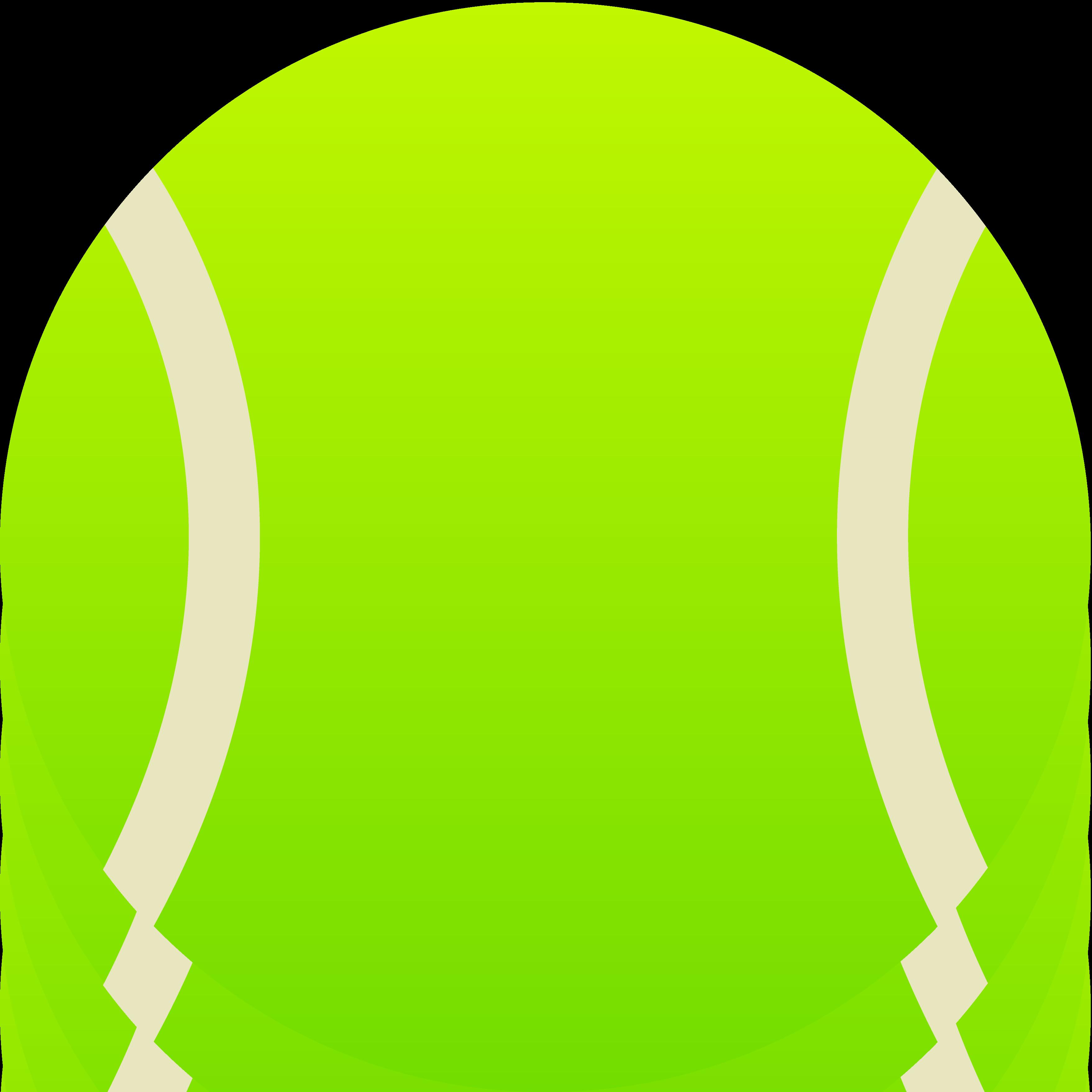 3515x3515 Tennis Ball Clip Art