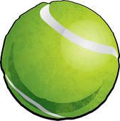 169x170 Tennis Ball Clip Art