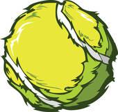 170x161 Tennis Ball Vector Clip Art