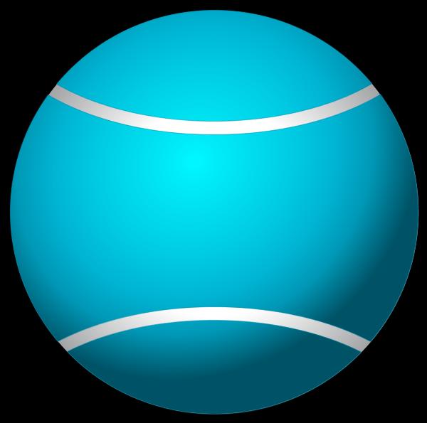 600x595 Tennis Ball Simple Vector Clip Art