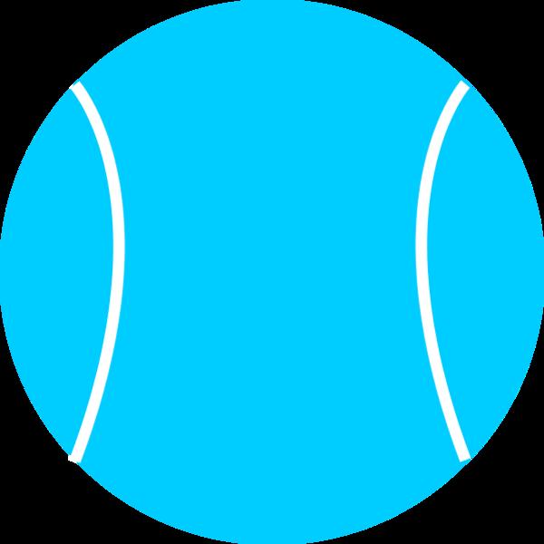 600x600 Tennis Ball Vector Clip Art 2
