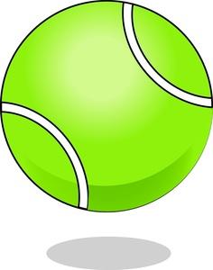 236x300 Cartoon Tennis Ball Clipart