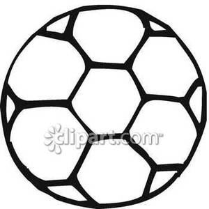 300x300 Ball Black And White Clipart
