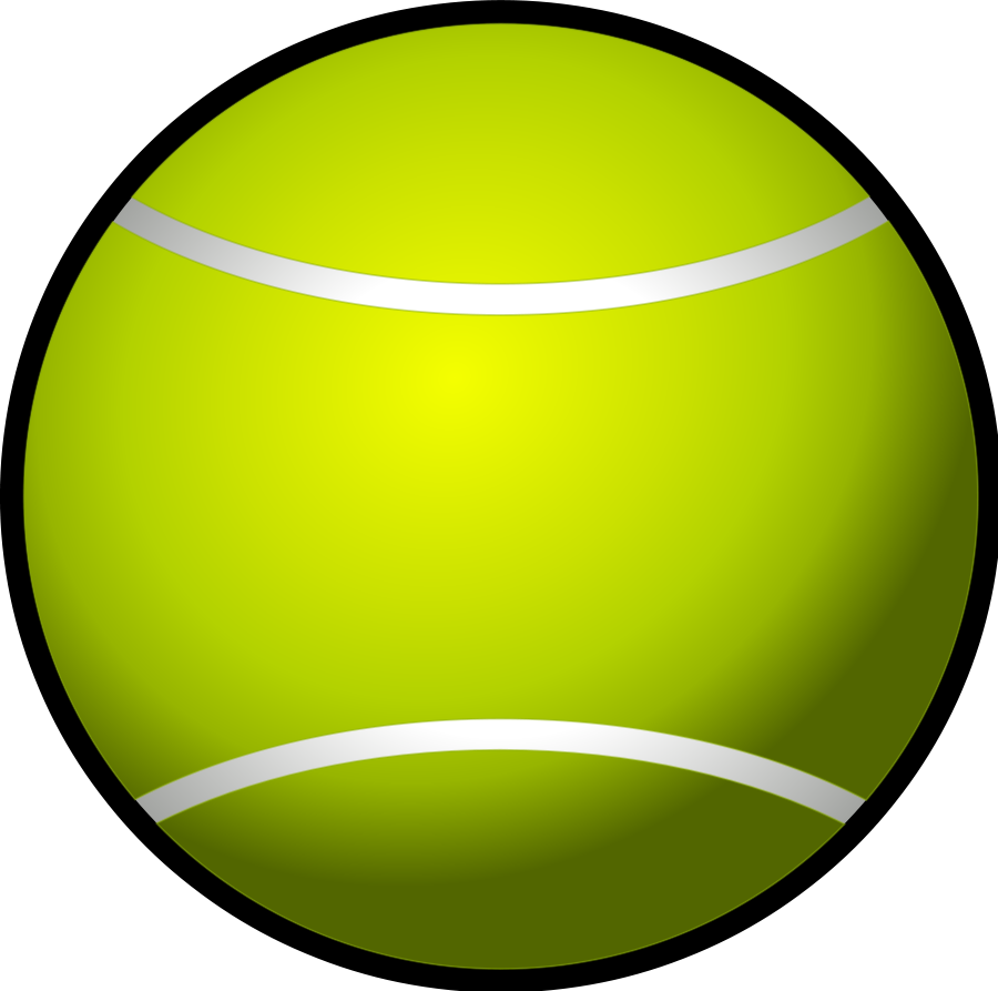 900x893 Tennis Ball Simple Png Clip Arts For Web