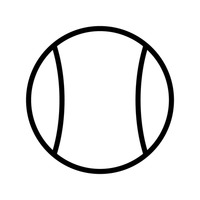 200x200 Marble Ball Outline Outlines Linear Linears Linear Art Minimalism
