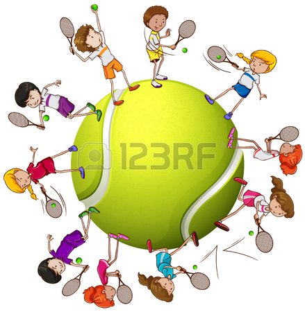 Tennis Cartoons Clipart