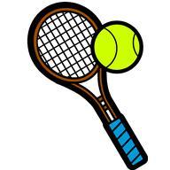 192x192 Clip Art Tennis