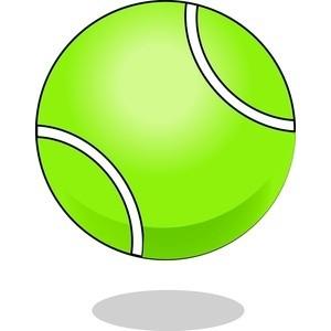 300x300 Tennis Ball Clipart