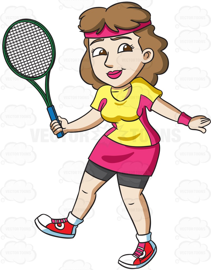 801x1024 A Female Tennis Player Practices Her Swing Tennis Players