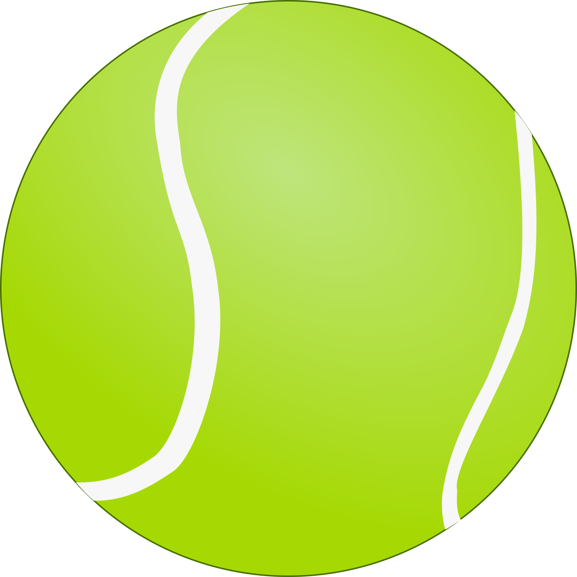 2400x2400 Tennis Ball clipart bola