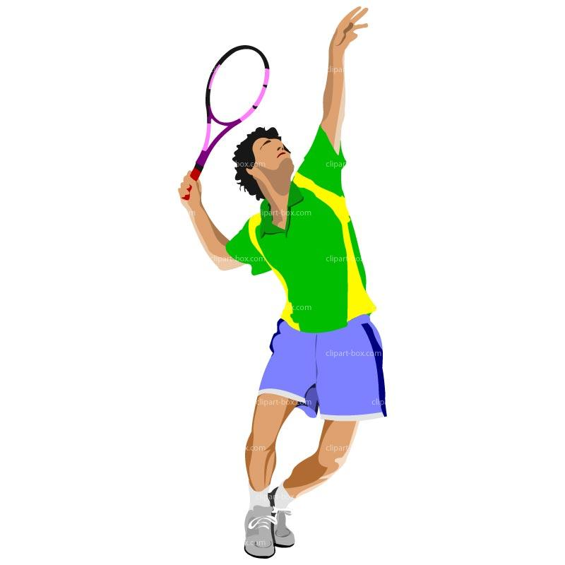 800x800 Boy Tennis Clipart (11+)