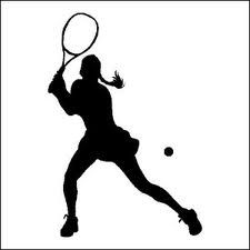 225x225 Tennis Player Clipart