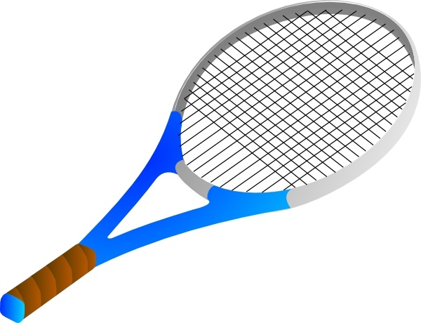 600x460 Tennis racket clip art Free vector in Open office drawing svg