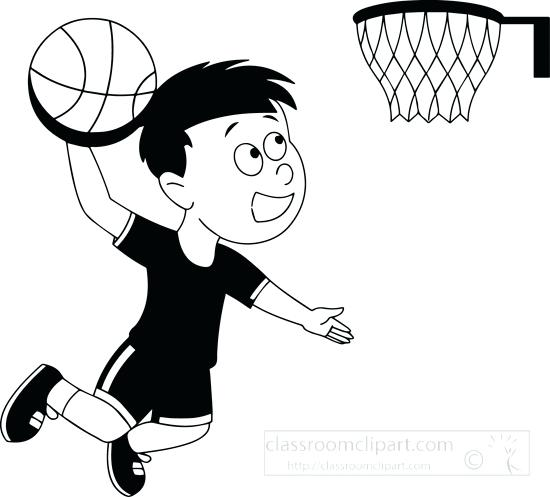 550x497 Clipart Basketball Basketball Black And White Free Black And White