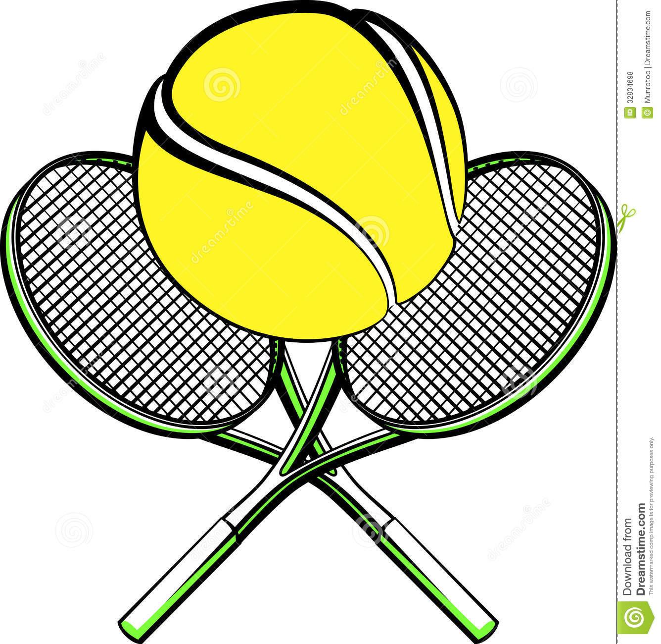 1336x1300 Tennis Racket And Ball Clipart