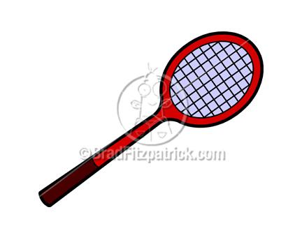432x324 Cartoon Tennis Racket Illustration Royalty Free Tennis Racket