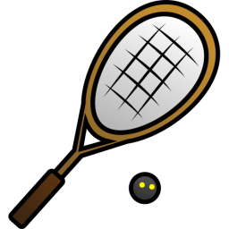 Tennis Racket And Ball Clipart