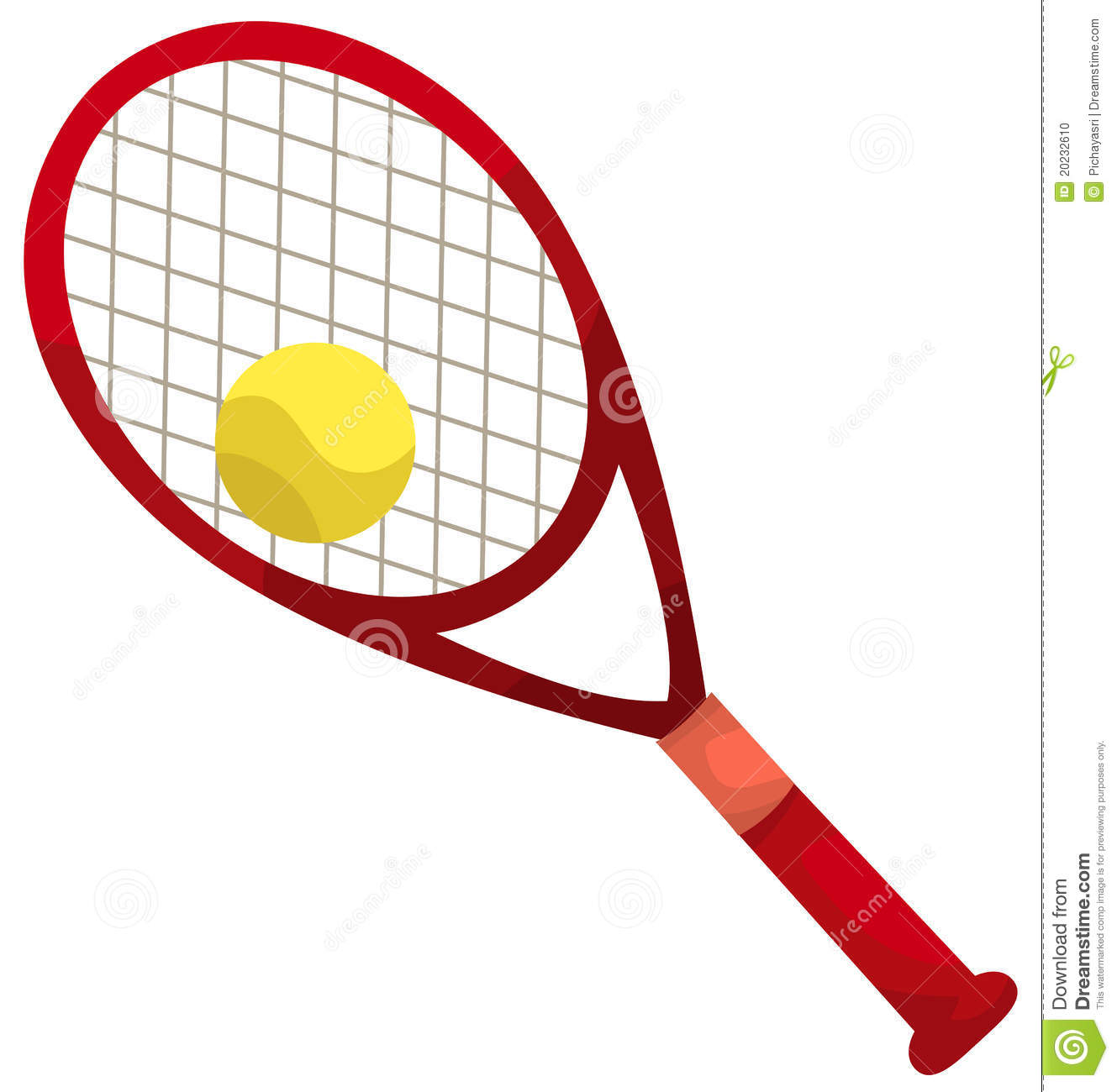 Tennis racket and ball clipart free download best tennis - Dessin raquette ...