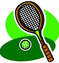 Tennis Rackets Clipart