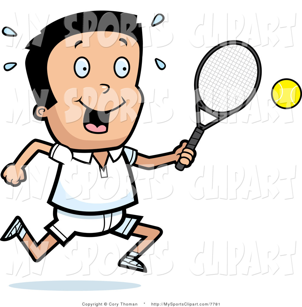 1024x1044 Racket Clipart Sports Clip Art Of A Boy With A Tennis Racket