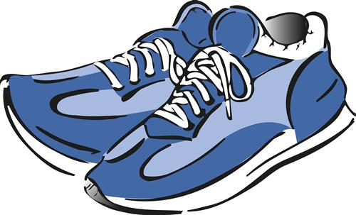 500x303 Gym Shoes Clipart Gym Clothes