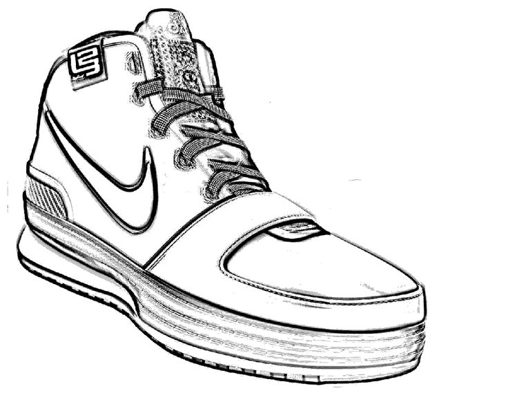 Tennis Shoes Drawing