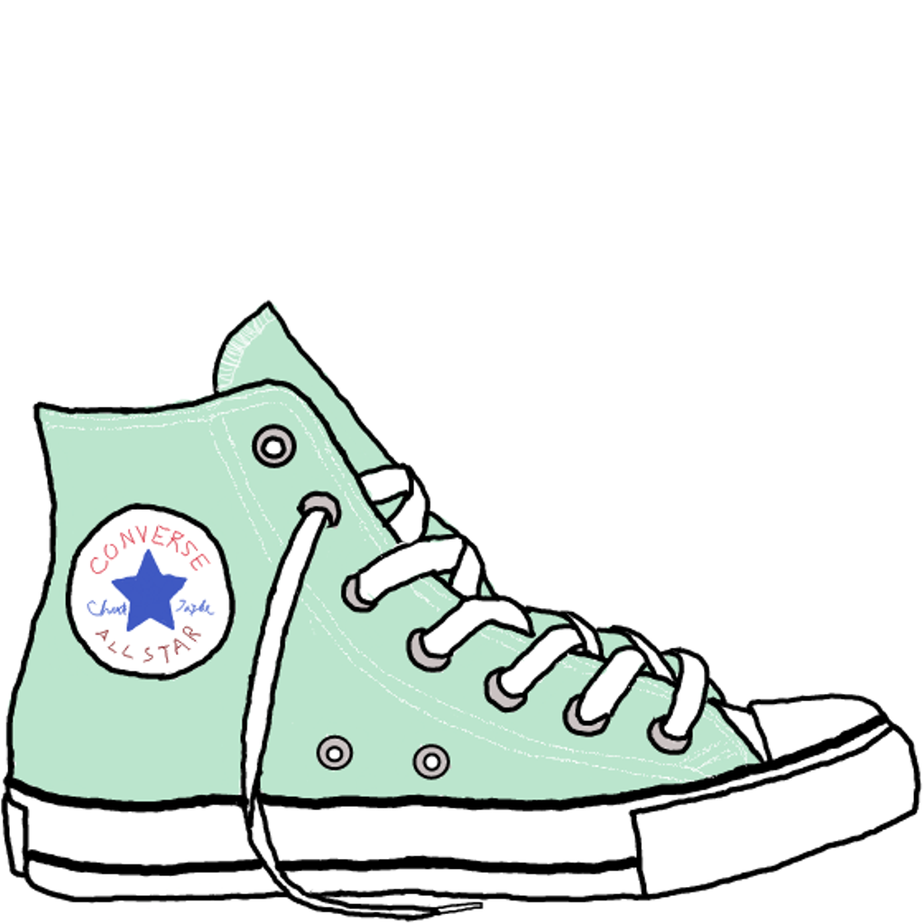 1024x1024 Drawn Sneakers Cool Sneaker