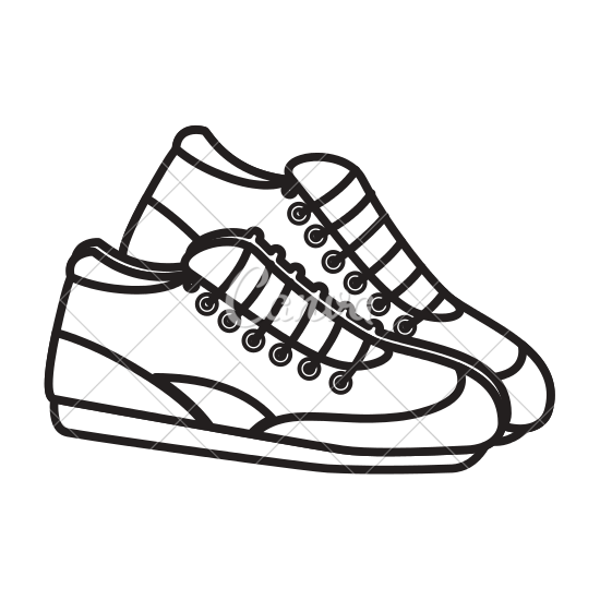 550x550 Tennis Shoes Icon