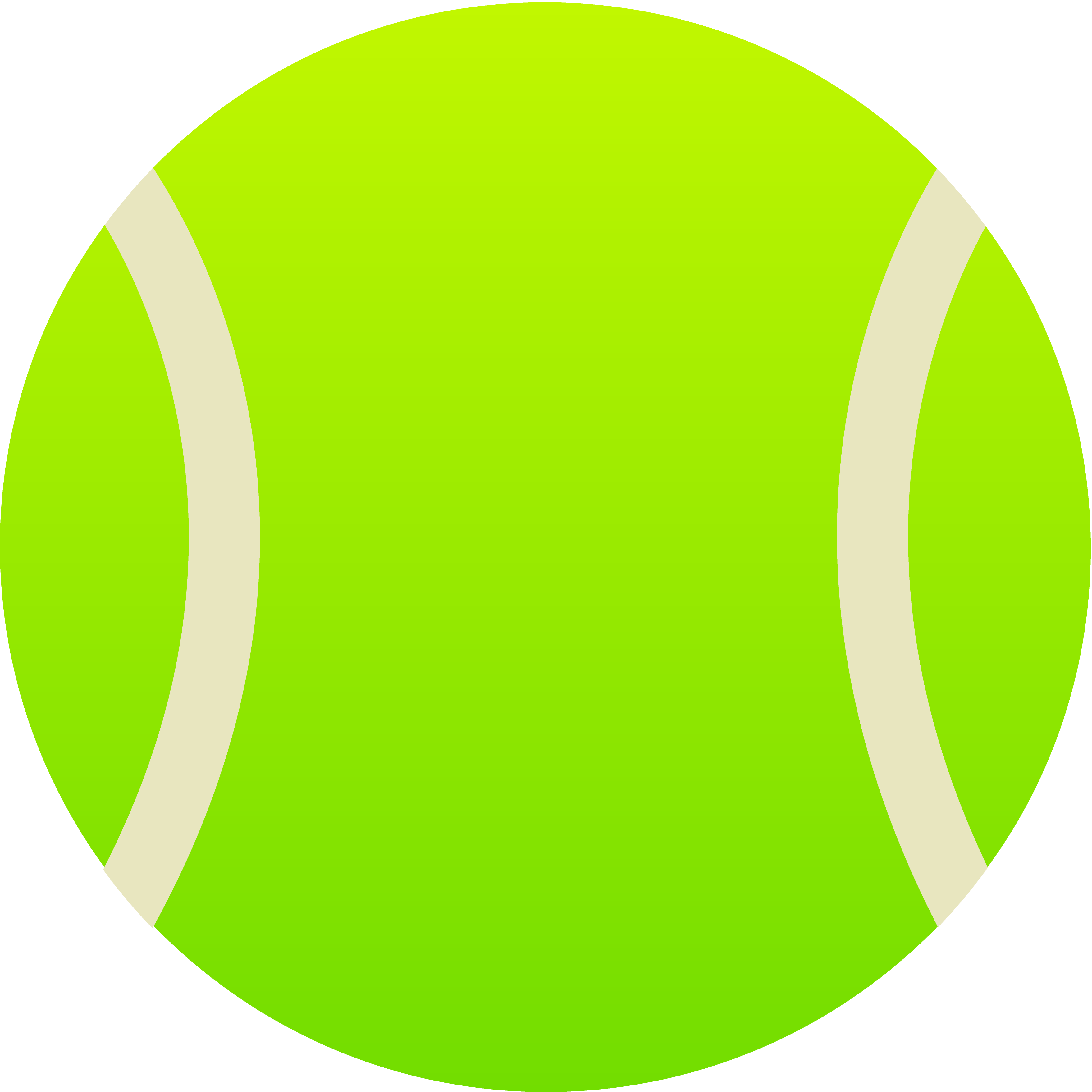 3515x3515 Simple Green Tennis Ball