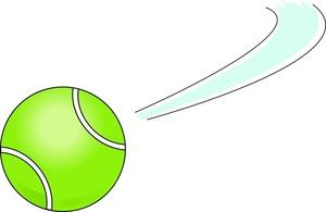 300x195 Tennis Ball Clipart Image