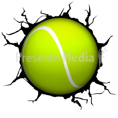 400x400 Tennis Ball clipart animated