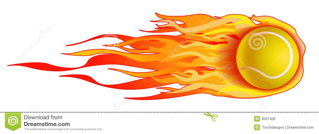 1300x548 Tennis Ball clipart flame