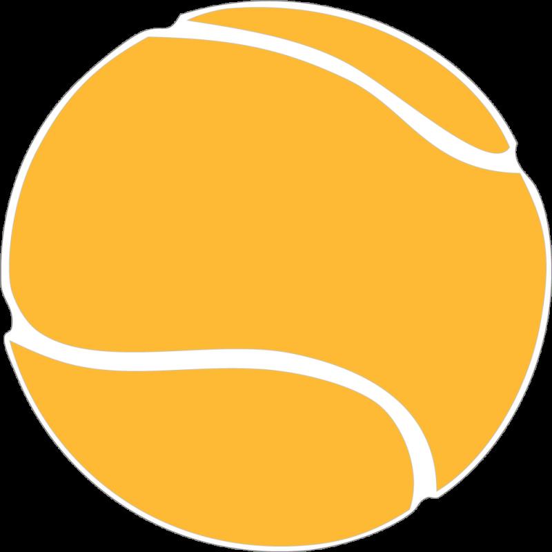 800x800 Tennis Ball Clipart Yellow Ball