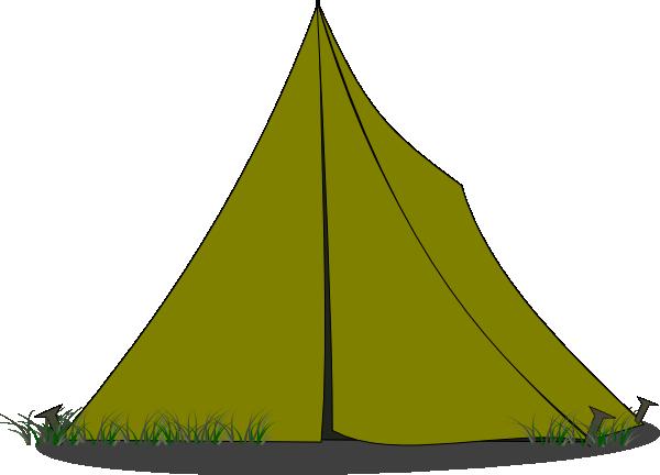 600x432 Tent Ridge Blue Clip Art
