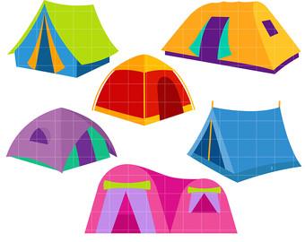 340x270 Tent Clip Art Etsy