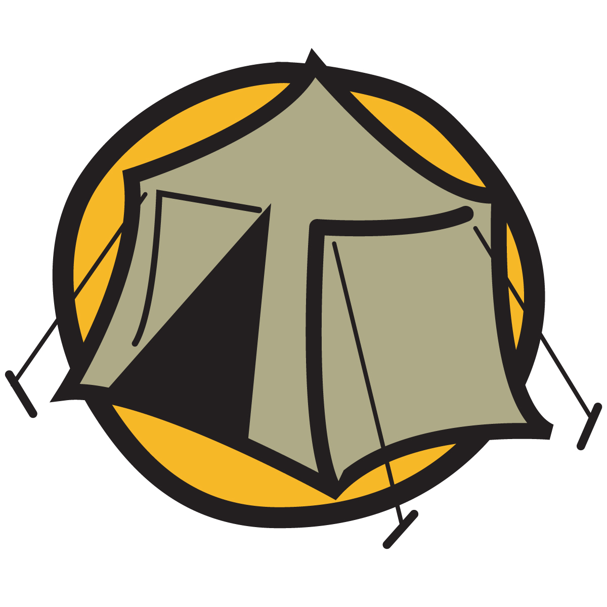 1200x1200 Camp Fire Clipart Camping Trip