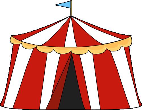 500x387 Circus Tent Clip Art