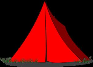 300x216 Tent Ridge Blue Clip Art