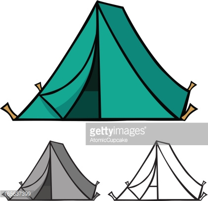 421x407 Tent Clipart Teal