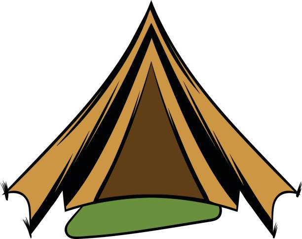 612x484 Tent Clipart War
