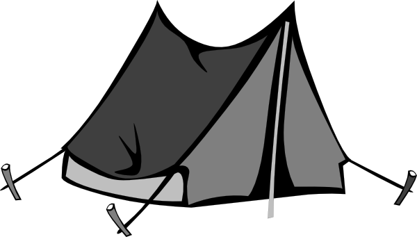 600x341 Blank Tent Clip Art