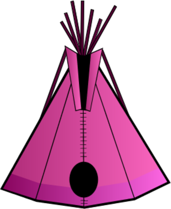 600x733 Camping Clipart Pink Tent