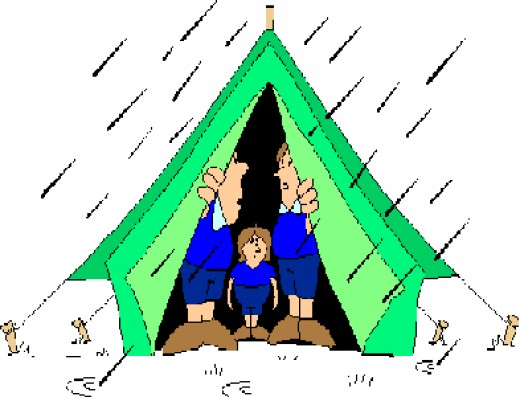 520x397 Survival Clipart Tent